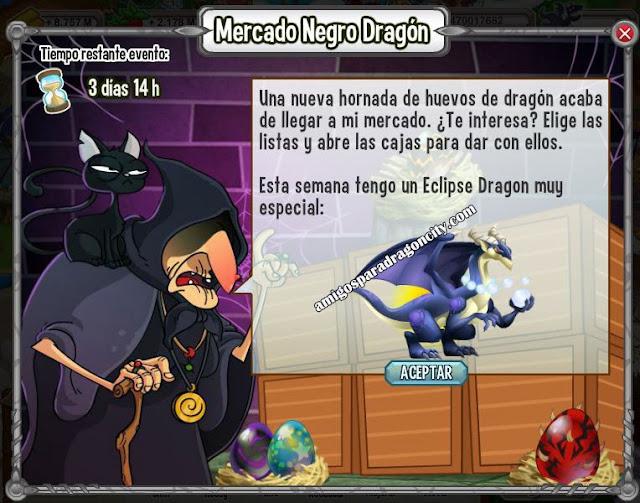 imagen del dragon exclipse en el mercado negro del dragon