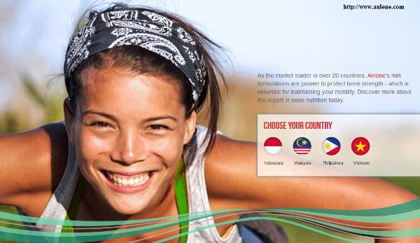 Hiện tại Anlene đã có mặt tại bao nhiêu quốc gia ? Anlenevn Team Vietnam