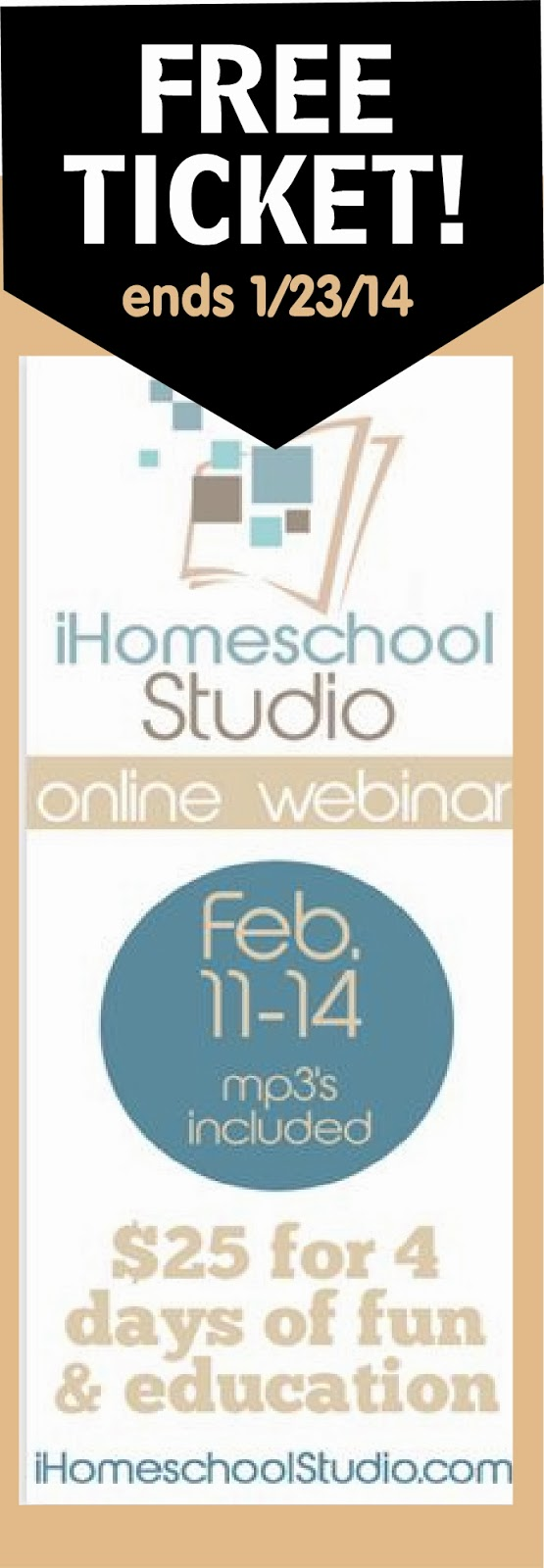 iHomeschool Studio homeschool webinar Feb 11-14, 2014