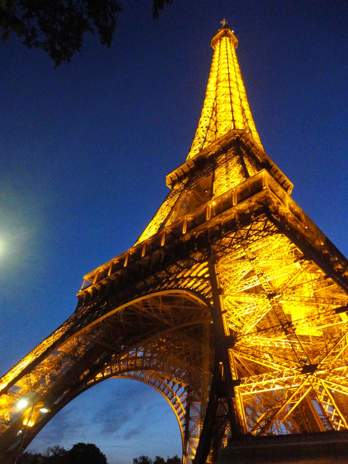 Eiffel Tower at night, Paris