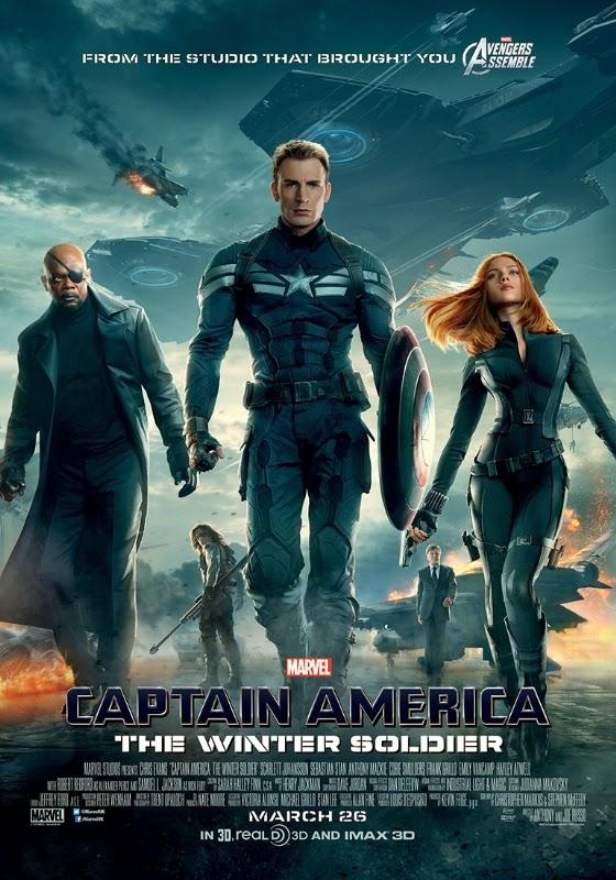 FallsDownz Movies & Games Reviews: Captain America : The Winter Soldier (  2014 ) Movie Review
