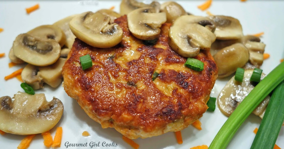 Thai-Style Chicken Burgers -- Simple & Flavorful