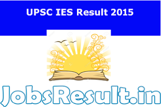 IES Result 2015