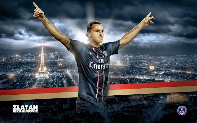 Zlatan Ibrahimovic PSG paris saint-germain wallpaper hd
