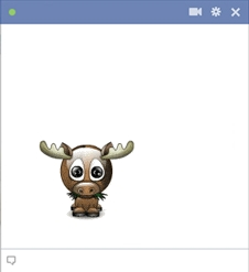 Moose emoticon