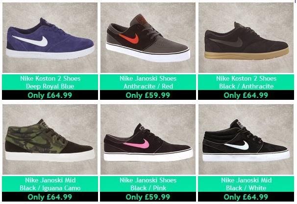 Nike SB Skate Shoes