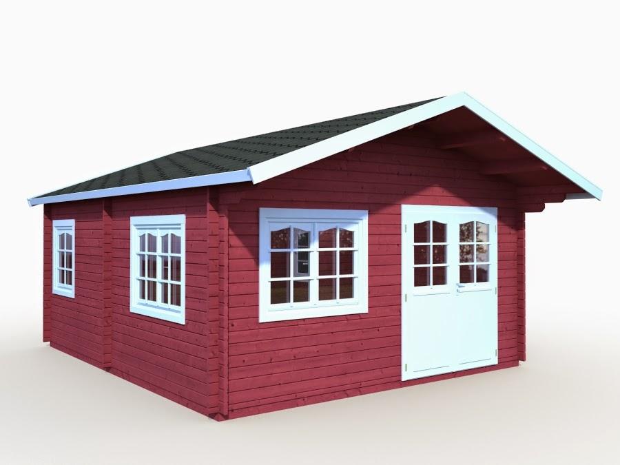 Casas de madera baratas venta bungalow modelo barbara - Casas madera nordicas ...