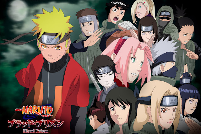 Shippuden Movie Blood Prison