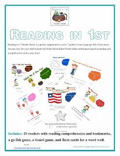 first grade reading curriculum