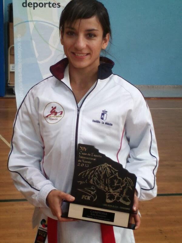 Sandra Sánchez 1ª