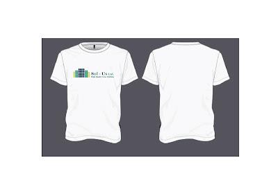 שדרוג לוגו ועיצוב חולצות לחברת Sol-Us - סטודיו אמפולסיבה