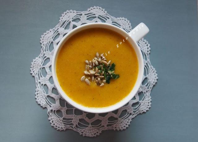 Zupa krem ogórkowa