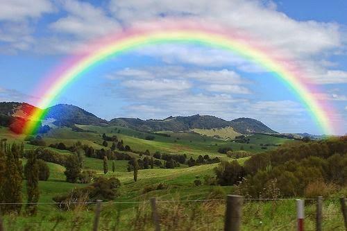 Los colores del arco iris