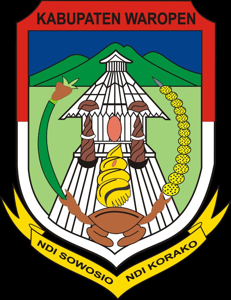 Logo Kabupaten Sarmi Dan Kabupaten Waropen Ardi La Madi S Blog