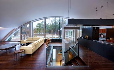 contoh desain rumah di perbukitan | koleksi gambar rumah
