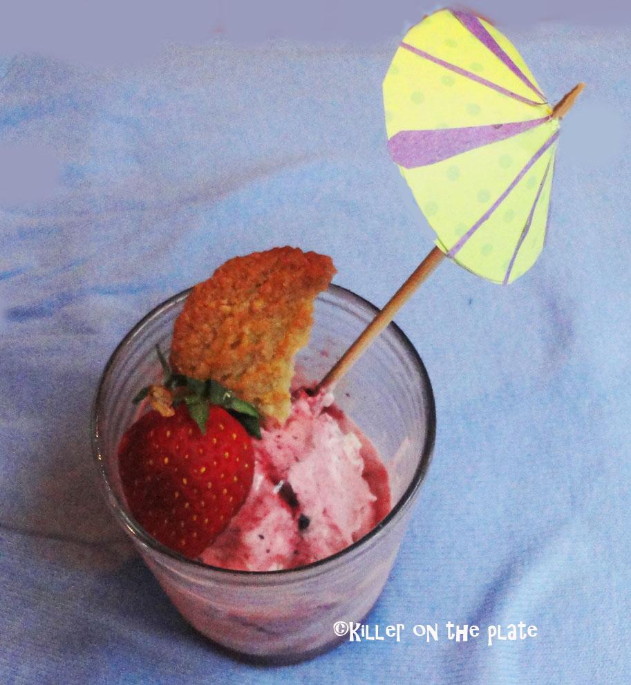 how to make strawberry ice cream