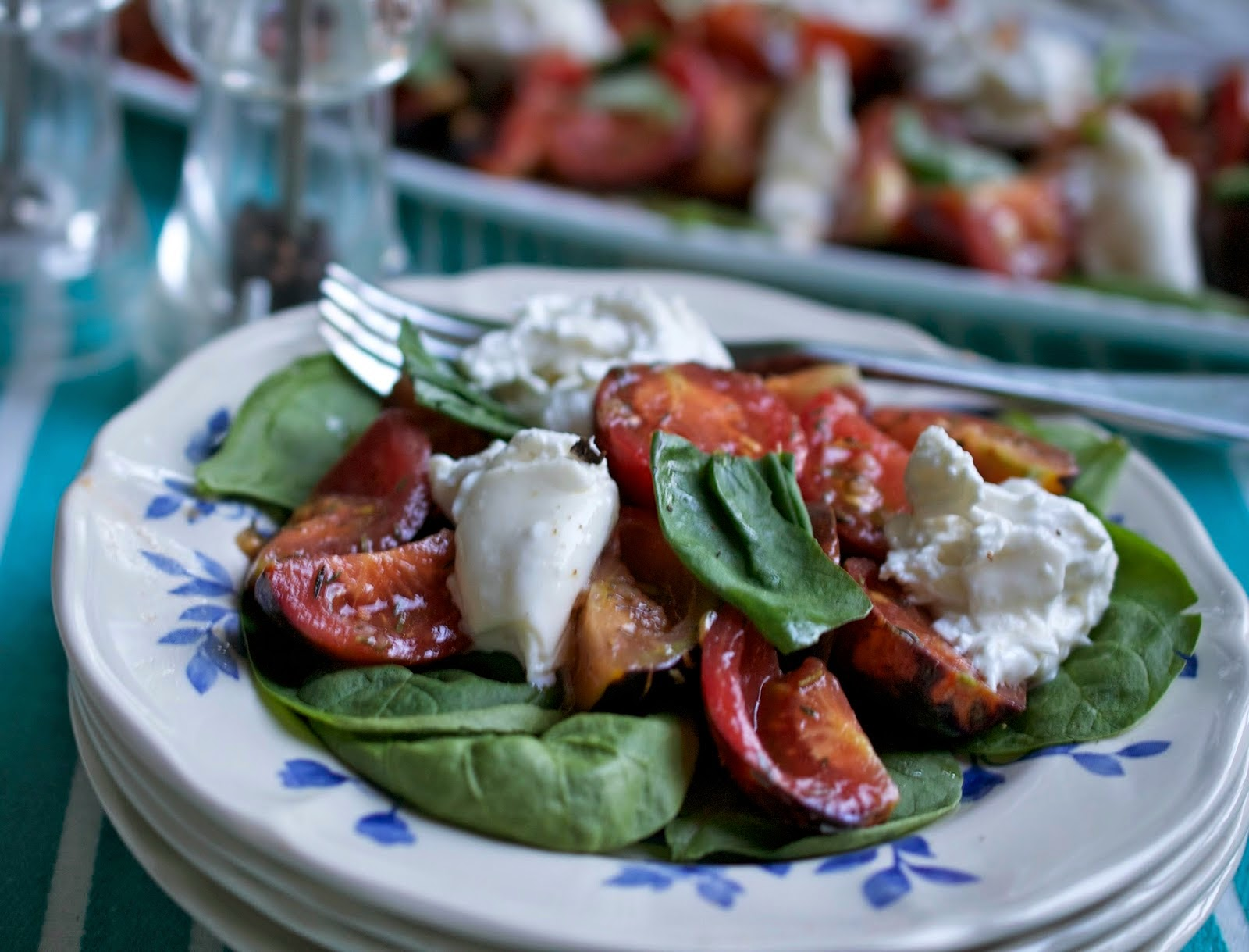 more than burnt toast: My Vote is for Marinated Burrata ...