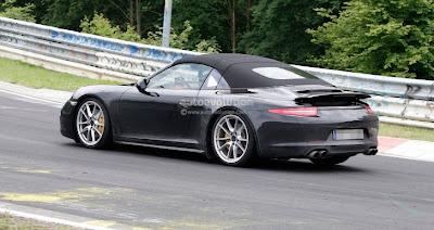 Spyshots: 2013 Porsche 911 Targa 991