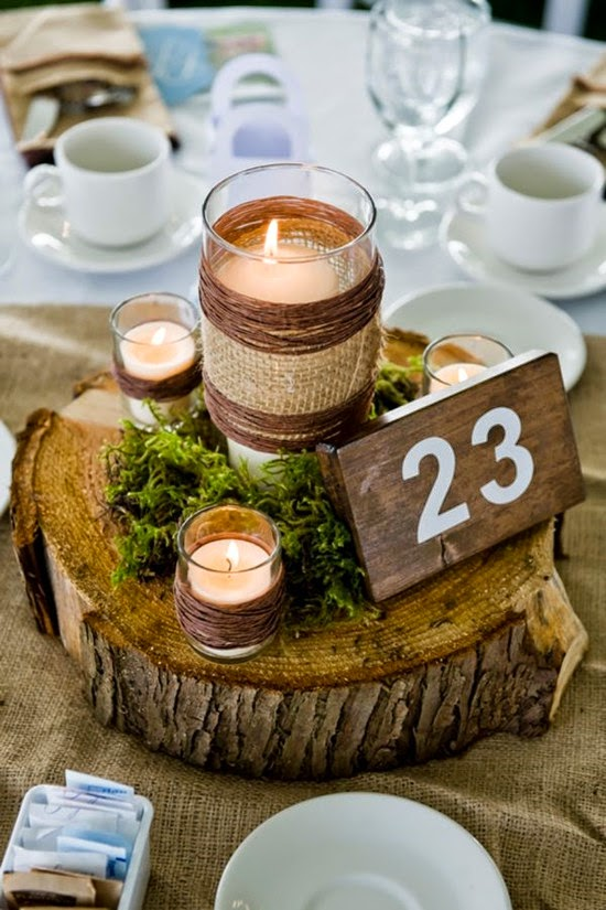 Wedding Ideas Blog Lisawola: How to DIY Simple Wedding Centerpieces ...