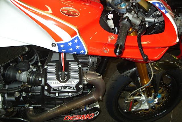 Moto Guzzi MGS-01 Corsa Motorcycle Guareschi Racing