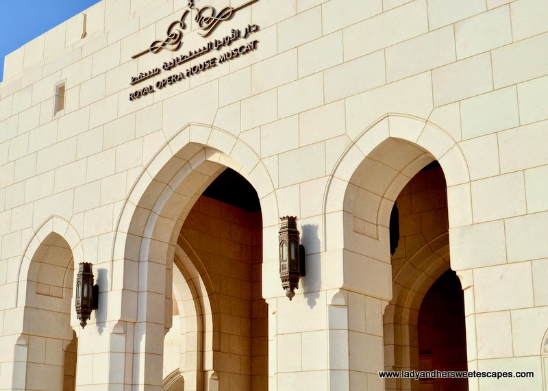 Royal Opera House Muscat exterior