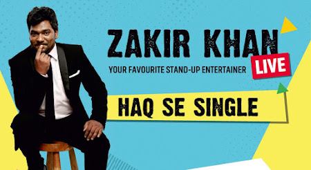 Poster Of Haq Se Single by Zakir Khan 9th July 2017 300MB Free Download