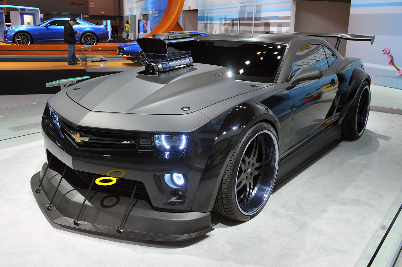 Docar S Quot Turbo Quot Chevrolet Camaro Is A 700 Hp Fantasy Car