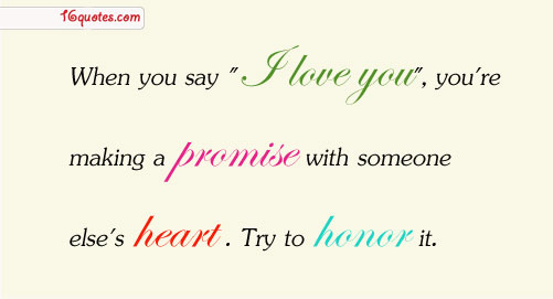 How can you prove that you love someone