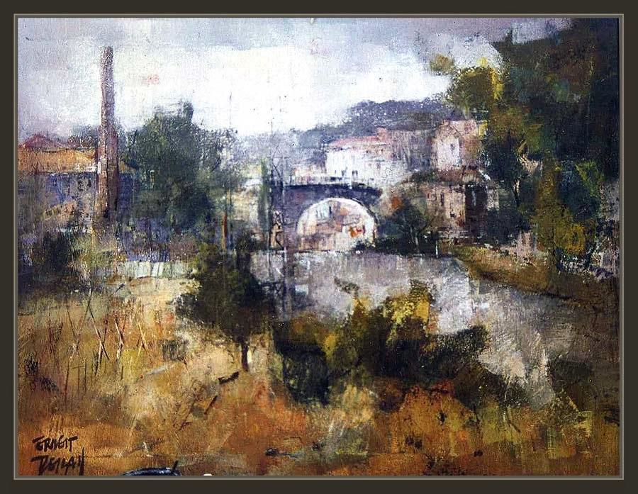 Ernest descals la historia del pintor farmacias antiguas manresa pintura sant cugat del vall s - Pintores de barcelona ...