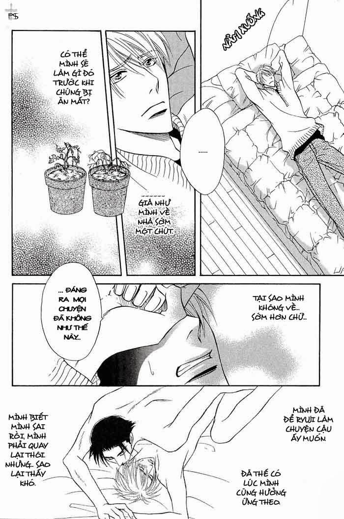 Renai Kyoutei Nukegake Nashi Chapter 3 - Trang 16