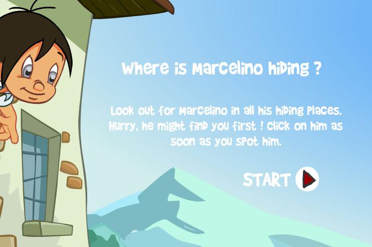 Kids Game : Find Marcelino