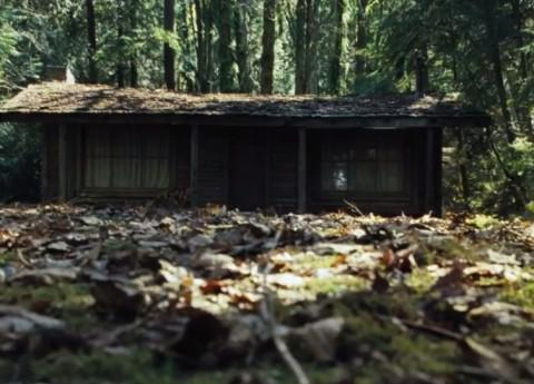 The cabin from The Cabin in the Woods, which is very reminiscent of the cabin from The Evil Dead