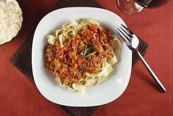 recipe for Pappardelle with Osso Buco Sauce
