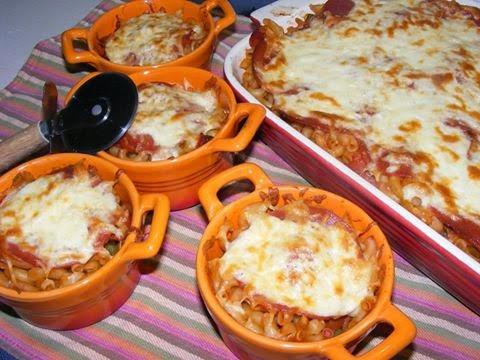 Recette du macaroni viande haché crème et mozzarella