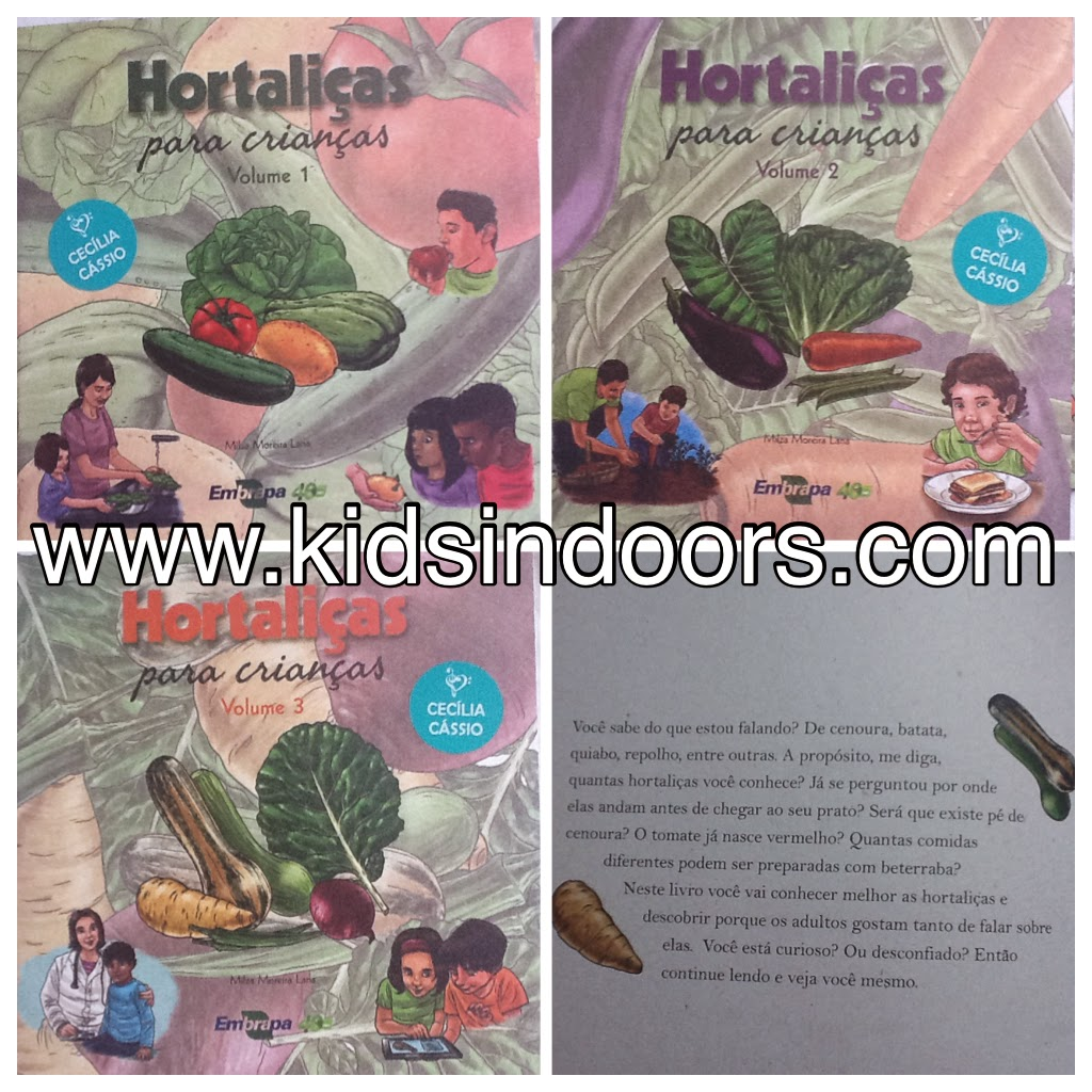 Coleção HORTALIÇAS PARA CRIANÇAS  d02622f4ec1