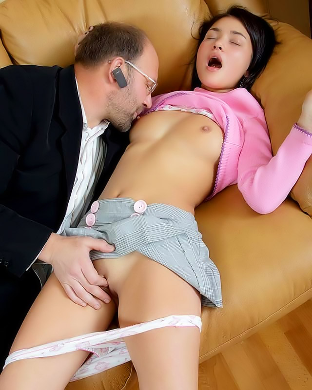 Young Sweet Girl Get Molested By A Horny Guy