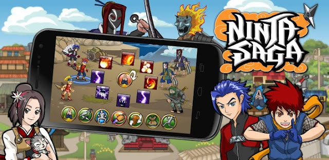 Download Ninja Saga 0.9.14 (Unlimited Money & Tokens)