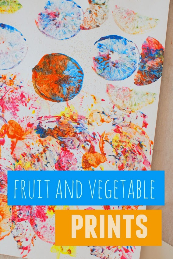 3 Ways To Make Fun Fruit And Vegetable Print Art