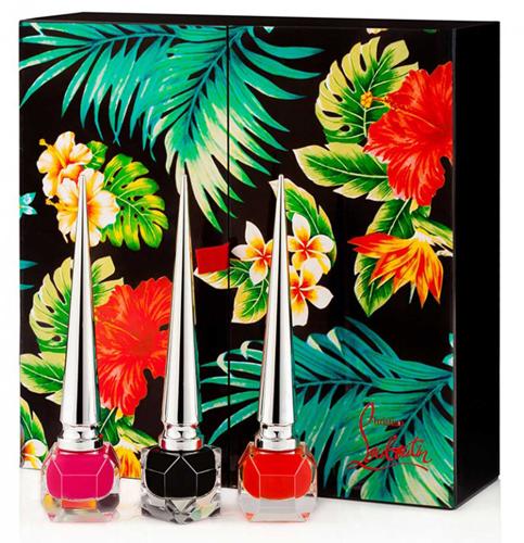 esmaltes de uñas Christian Louboutin edición limitada Hawaii Kawaii primavera 2016