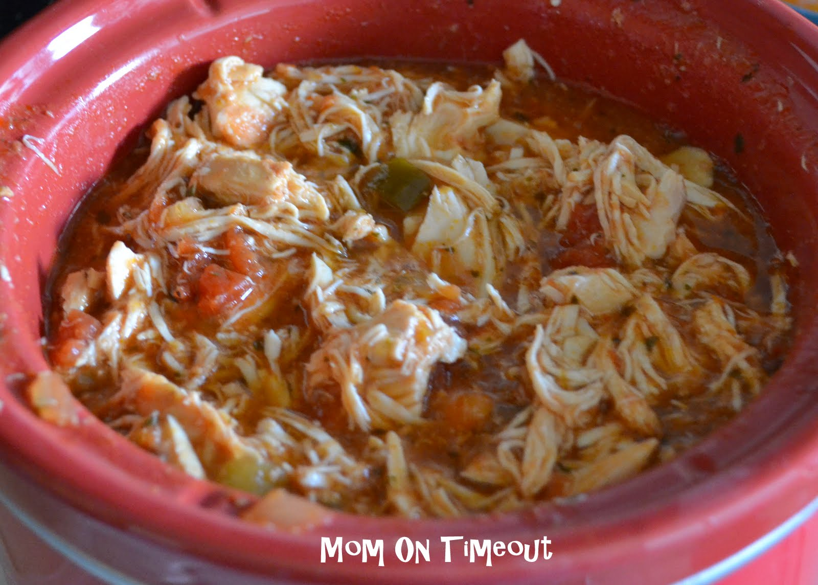 Slow Cooker Salsa Chicken - Mom On Timeout