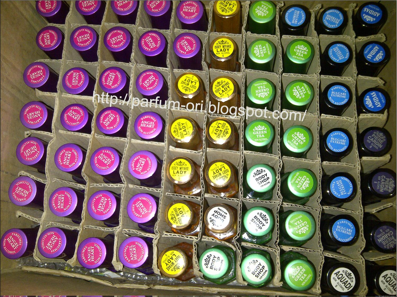 Pengiriman Parfum ke Medan - Maret 2013