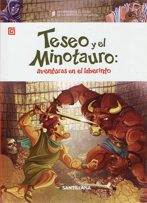 Teseo y el Minotauro - Edit. Santillana