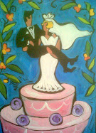 Original Painting for the Bride & Groom