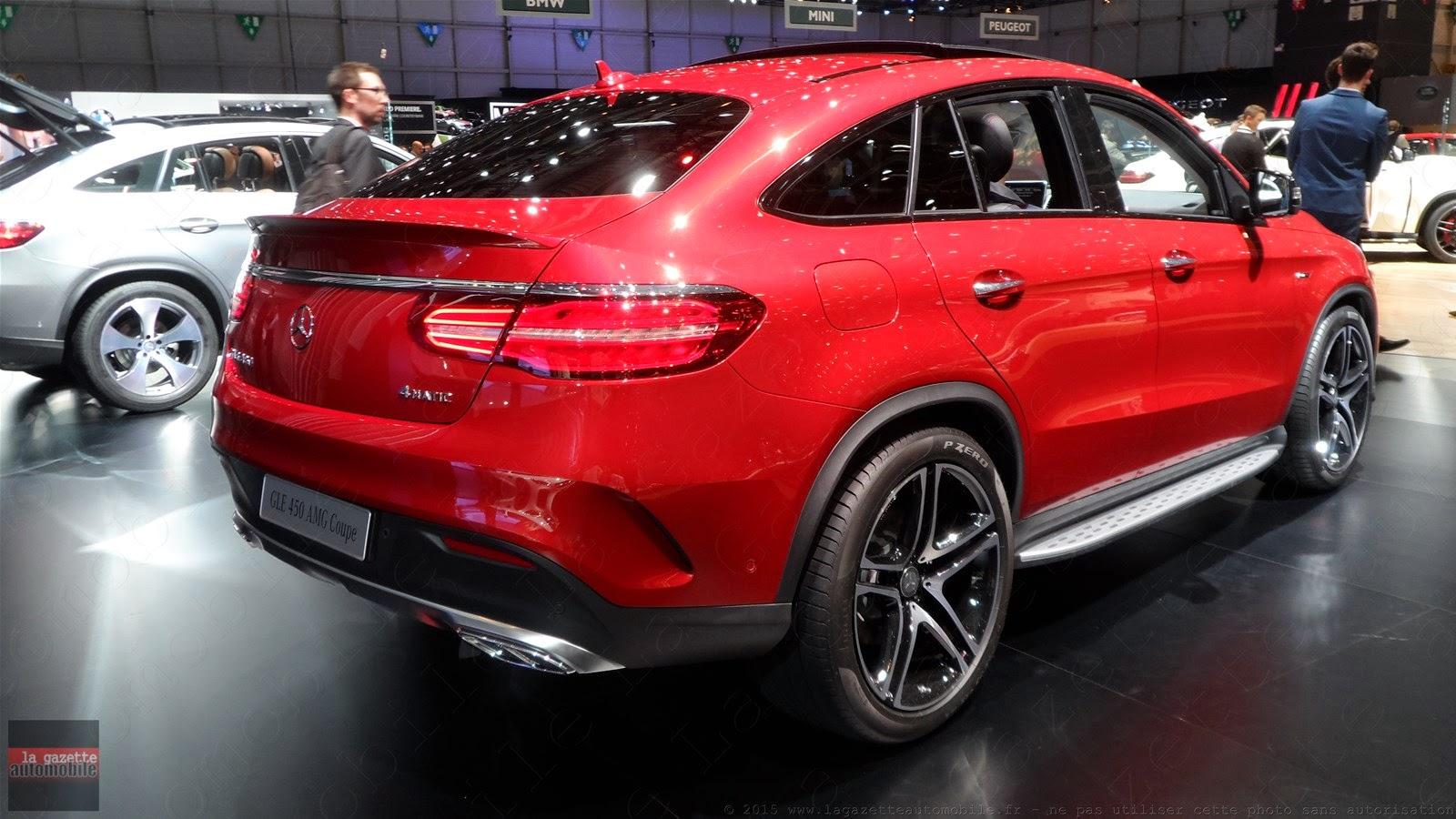 Genève 2015 Mercedes GLE Coupé