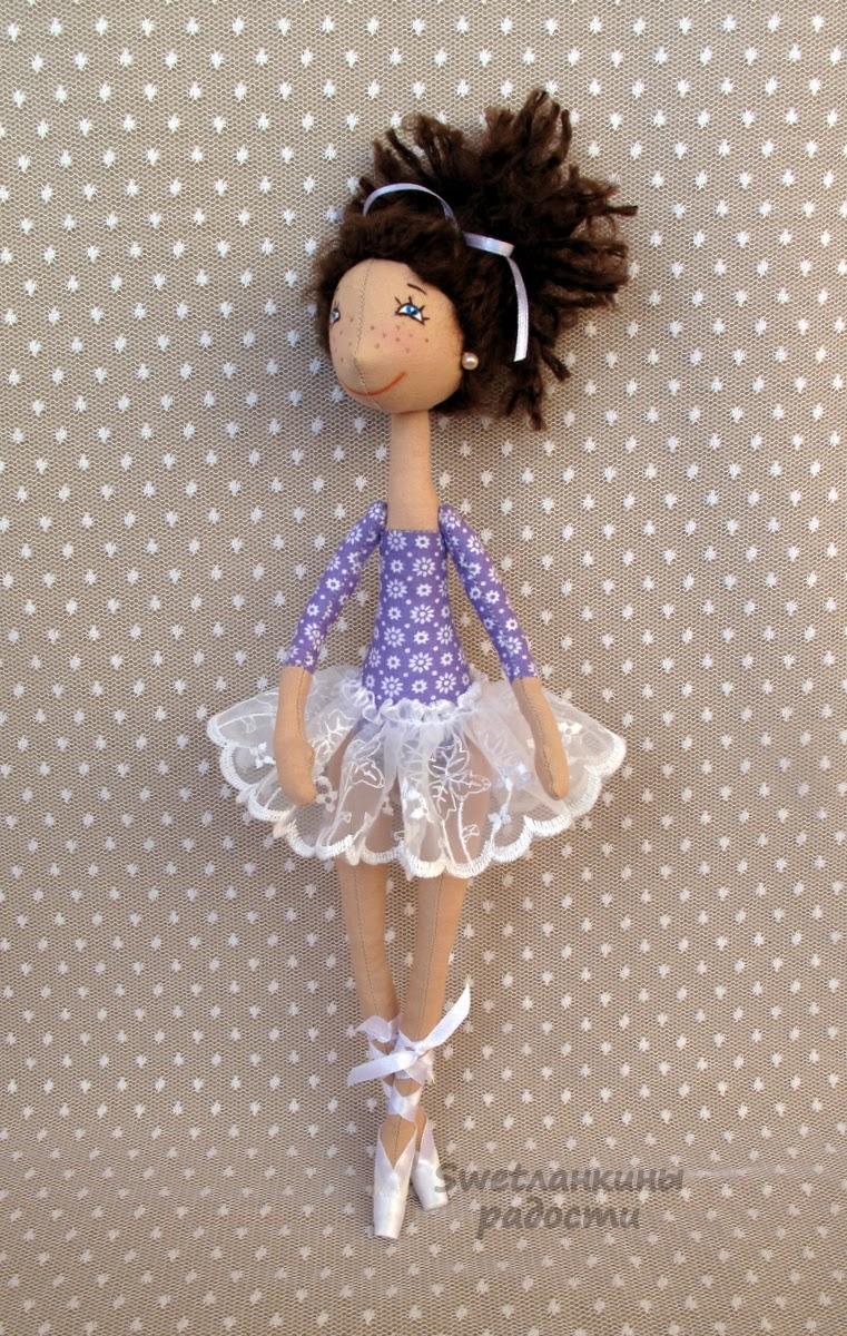 Текстильные маленькие куклы своими руками 16