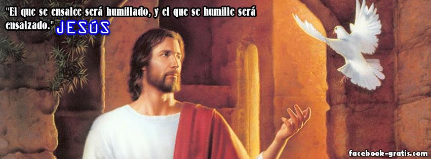 Portada con Frase de Jesucristo