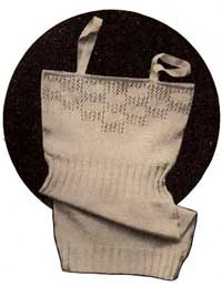 Free 1930's Knitting pattern - Ladies Vest from Lux
