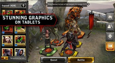 Heroes of Dragon Age Hadir di Android