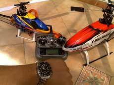 Seiko Diver Sumo with Align Trex 450 n Trex 500