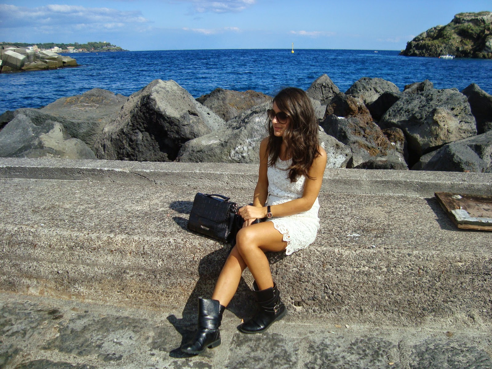 stylegram, blogger sicilia, outfit pizzo